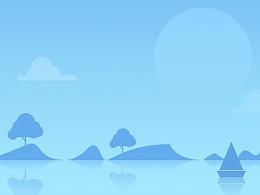 GUI作品展示-天气控件视觉设计