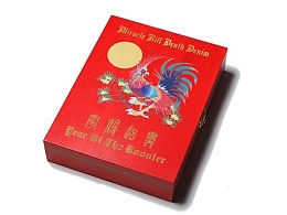 MIRACLE KILL YEAR OF THE ROOSTER死亡丹宁生肖鸡年限量款牛仔裤