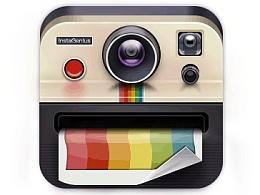 临摹写实相机图标