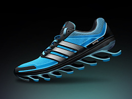 PS拟真技能get!Adidas shoes