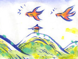 """嗨!偶们是""""山水集团!""""漫画001"""