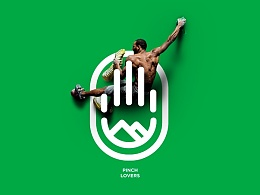 Climbing club 'Pinch lovers' - Graphic Design
