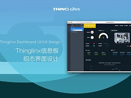 Thinglinx Dashboard操作界面设计