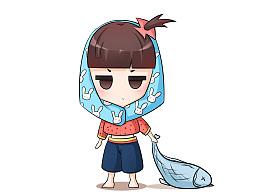 闽南文化人物设计