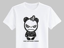 HI PANDA插画
