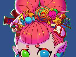 糖果系女孩
