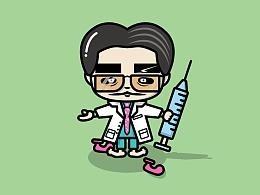 医生与病患矢量练习