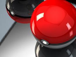 C4D练习-精灵球