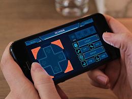 机器人项目app与物料设计