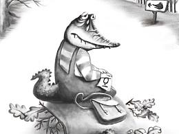 一组鳄鱼小故事