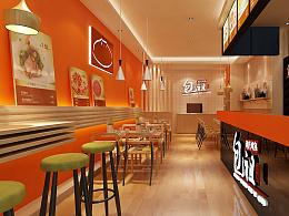 包子店面效果图 包子的新特色 餐饮设计