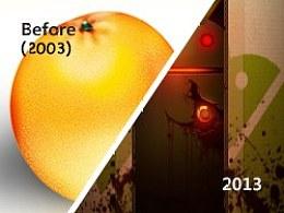 #1314爱设计#十年荏苒,不悔青春!