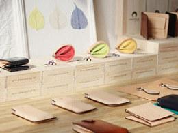 FOSTYLE植鞣牛皮钱包系列:handmadeboutique