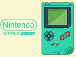 复古、扁平化、任天堂Gameboy