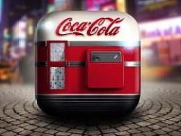 可口可乐 ios icon 一枚