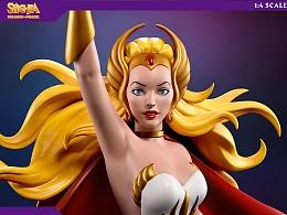 【PCS】非凡的公主希瑞 1比4雕像