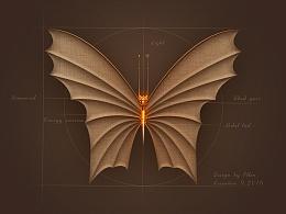 《机械蝴蝶 》图形设计