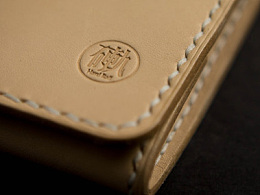 硬轨手工皮具——日记本与零钱包