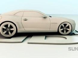 SUNRGBC4D汽车绑定测试