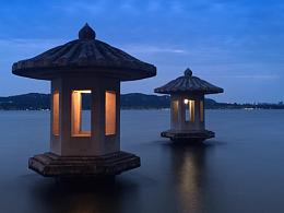 夜色阑珊翠光亭赏景手机拍照小作一组!