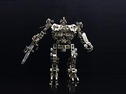 机械党 全金属机甲 机器人   铠甲勇士  模型套件