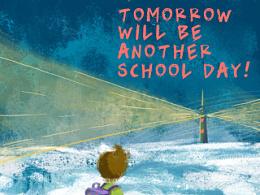 明天又要上学了==