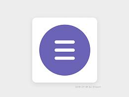 AE动效图标-汉堡icon