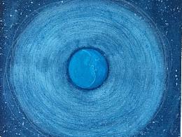 梦见一个蓝色的月亮
