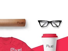 Pixel设计工作室、一套VI设计