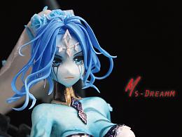 MsDreamm 「鬼魂新娘莫甘娜」堕落天使莫甘娜手办英雄联盟模型