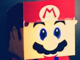 可爱超级玛丽小人盒子