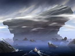 [练习]岩石岛