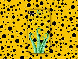 【图案设计】波点与章鱼