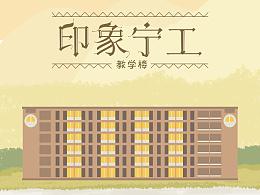 印象宁工 系列明信片