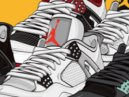 Air jordan IV Collection