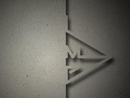 墙体雕刻字小尝试——大写字母、汉字、数字