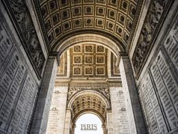 JUNE 2014 巴黎 石门和铁塔