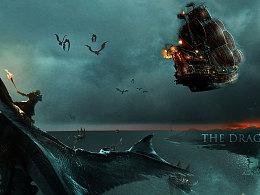 关于龙战争的感觉海报,做来玩到,轻喷。。。