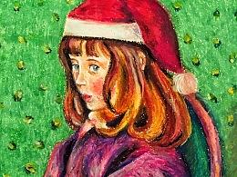 毕沙罗的小姑娘过圣诞