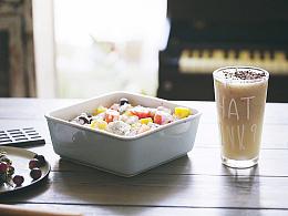 荔枝冰饮+西米水果捞 | 味蕾时光