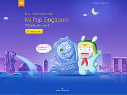 小米海外部9-11月作品集(新加坡爆米花、4G来了专题)