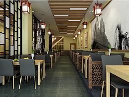 餐饮室内装修效果图