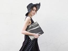 【花树果原创设计女装】2017夏新采风系列之黑色连衣裙