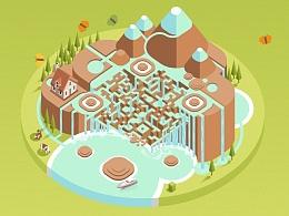 瀑布中的动态艺术二维码(以及一些想说的)