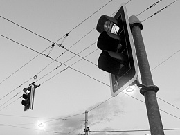 一组黑白摄影