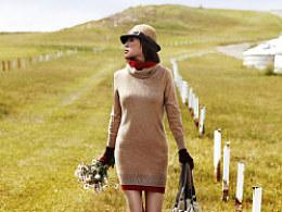 内蒙古拍摄的服装片