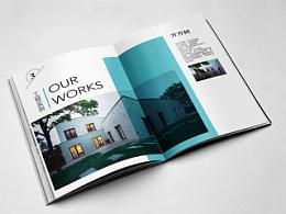 原创作品:首都工程宣传手册设计