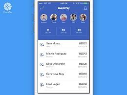 QuickPay支付交互原型 with ProtoPie