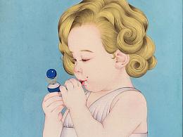 吹球球的小梦露