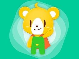 小快克吉祥物:小超熊形象设计案